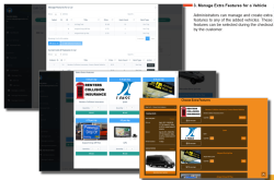 Pagematics Autorentz manage extra features