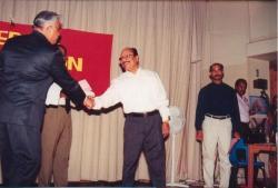 FOKANA President 2002 Kalathil Pappachen Reg Kickoff