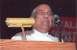 Former President Fr P P Phillip