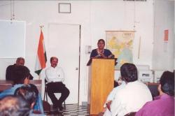Reception Education Department Director Lida Jacob