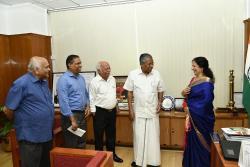 Flood Relief Fund to CM