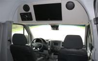 A1 Rental Vans - LED TV & DVD Player