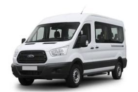 A1 Rental Vans - 4. Ford Transit 350 Medium Roof 12 P White With Tv