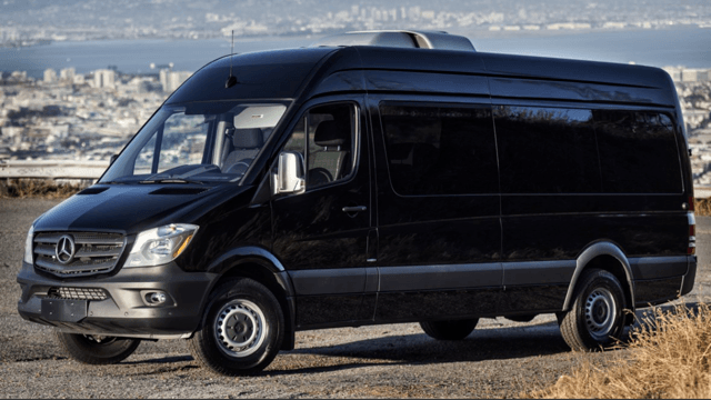 A1 Rental Vans - 6. Mercedes Benz 2014 Sprinter 15 P Black With Tv