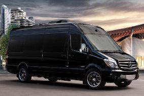 A1 Rental Vans - 7. Mercedes Benz Sprinter Star Cruiser 12 Passenger