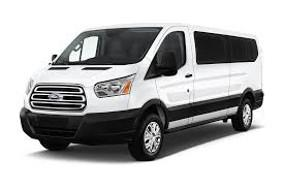 A1 Rental Vans - 9. Ford Transit 350 XLT Low Roof 12 Passenger.