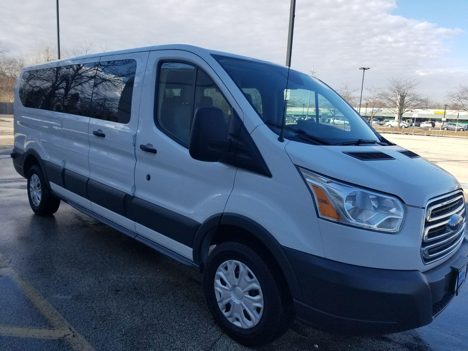 9 Ford Transit 350 XLT Low Roof 12 Passenger A1 Rental Vans