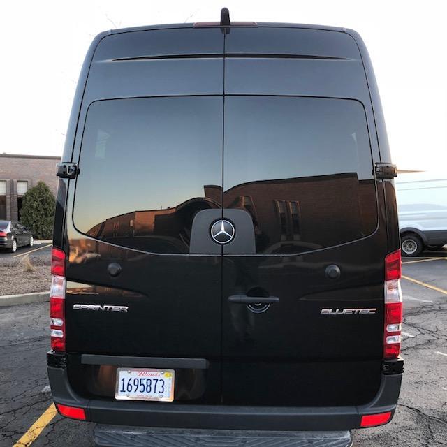 2016 Mercedes Benz Sprinter 2500 Passenger Exterior: 7. Mercedes Benz Sprinter Star Cruiser 12 Passenger