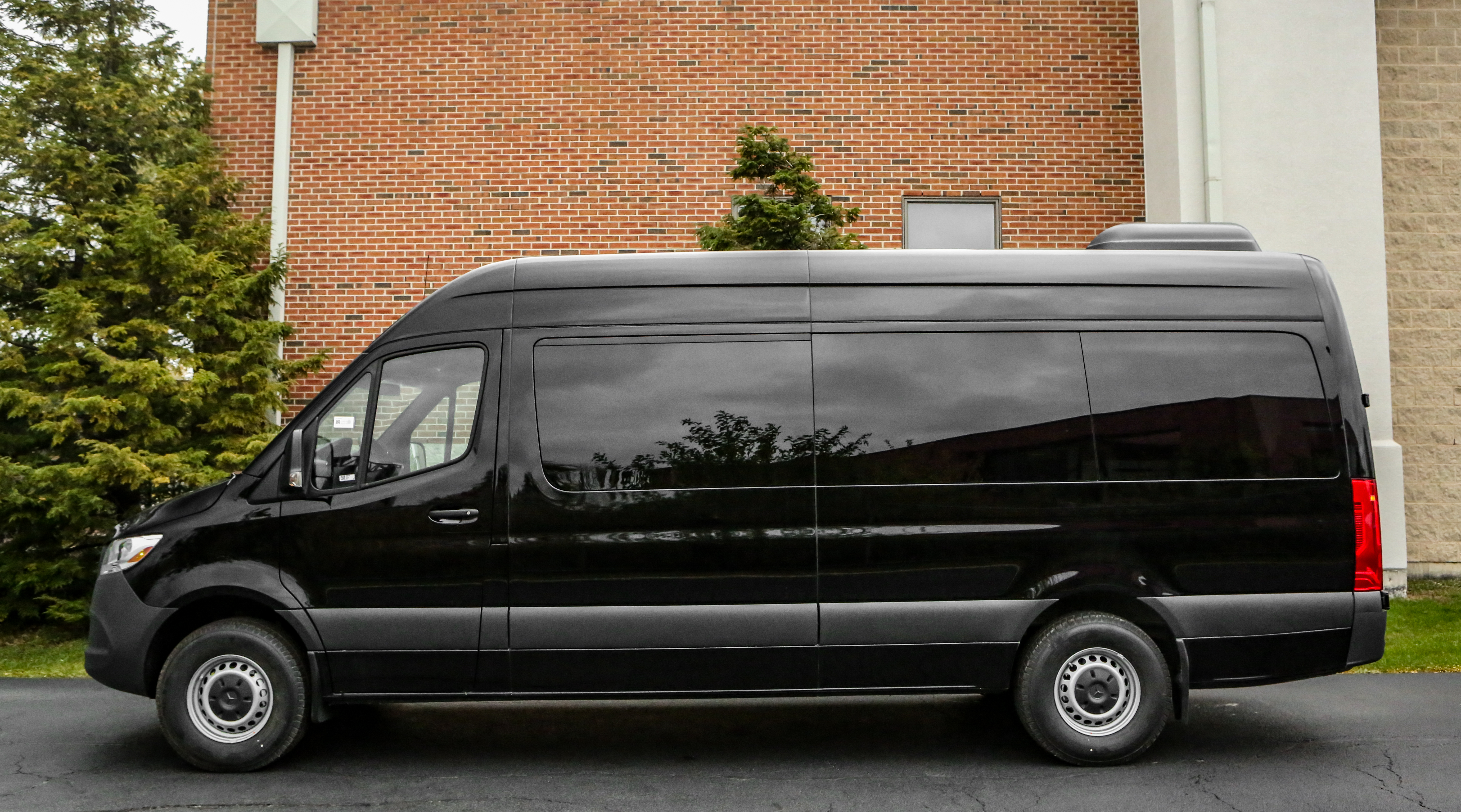 A1 Rental Vans - 2.  Mercedes Benz Sprinter 15 P Black