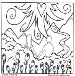 Coloring Page-Creation-Day 6