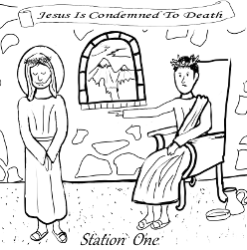 Stations of the Cross - Station 01