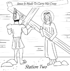 Stations of the Cross - Station 02