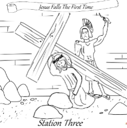 Stations of the Cross - Station 03
