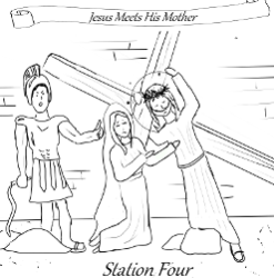 Stations of the Cross - Station 04