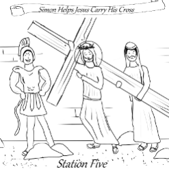 Stations of the Cross - Station 05