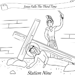 Stations of the Cross - Station 09