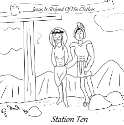 Stations of the Cross - Station 10