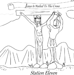 Stations of the Cross - Station 11