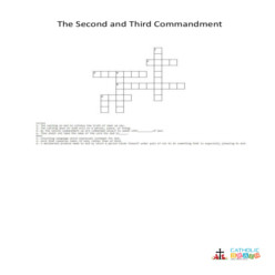 The Second and Third Commandments of God - Cross Word