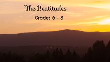 The Beatitudes Grades 6-8