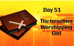 The Israelites Worshiping God