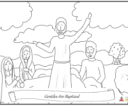 Gentiles Are Baptized