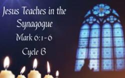 Jesus Teaches in the Synagogue