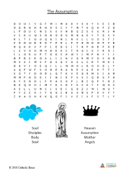 The Assumption - Word Search