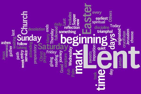 Lent Word Jumble