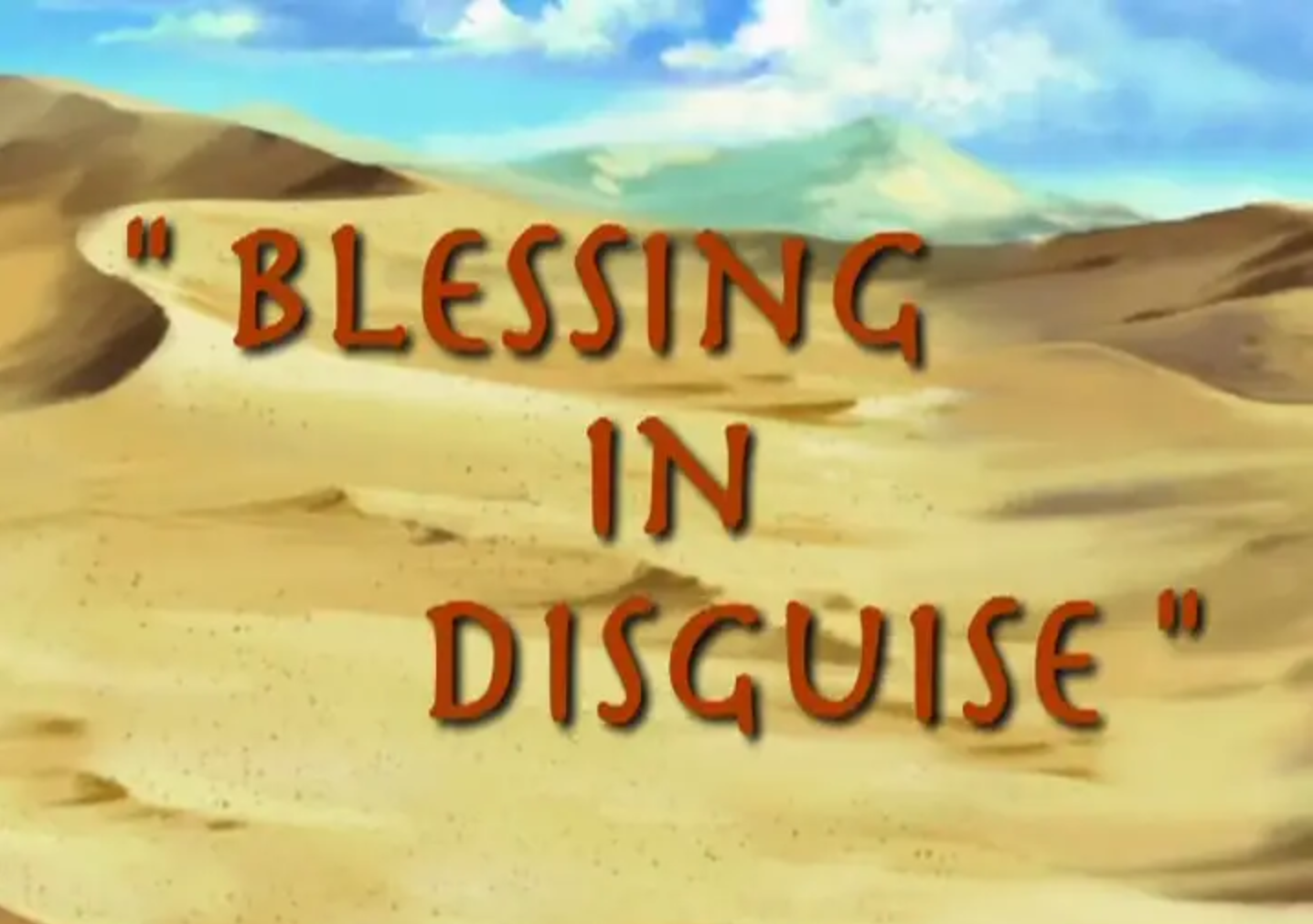 Bugtime Adventures - Blessing in Disguise - The Joseph Story