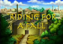 Bugtime Adventures - Riding for a Fall - The Story of Elisha healing Naaman