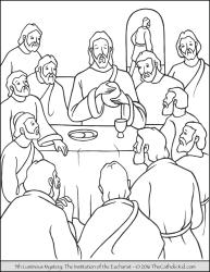 Luminous Mystery 05 - The Institution of the Eucharist