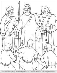 Luminous Mystery 04 - The Transfiguration