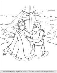 Luminous Mystery 01 - The Baptism in the Jordan