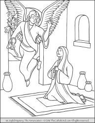 Joyful Mystery 01 - The Annunciation