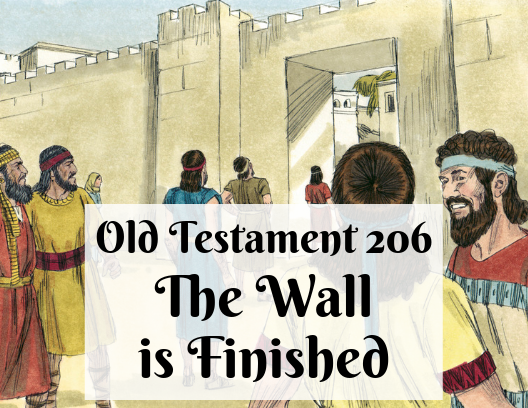 OT 206 - The Wall is Finished