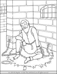 Saint John the Baptist - Imprisoned