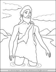 Saint John the Baptist - Jordan River
