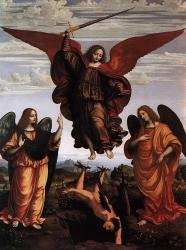 Saints Michael, Gabriel, and Raphael