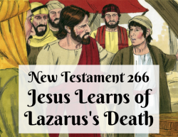 NT 266 - Jesus Learns of Lazarus's Death