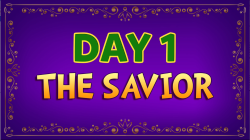 Brother Francis - Advent Day 01 - The Savior