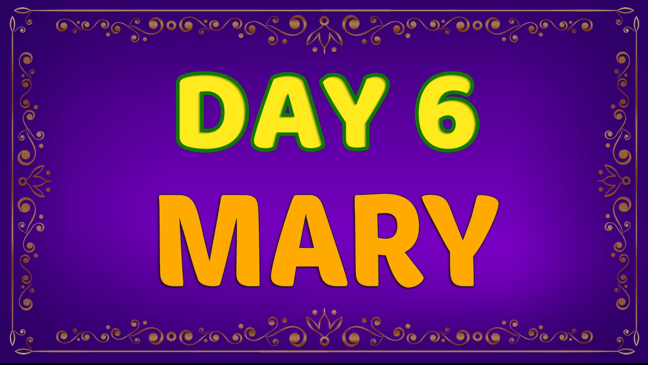 Brother Francis - Advent Day 06 - Mary