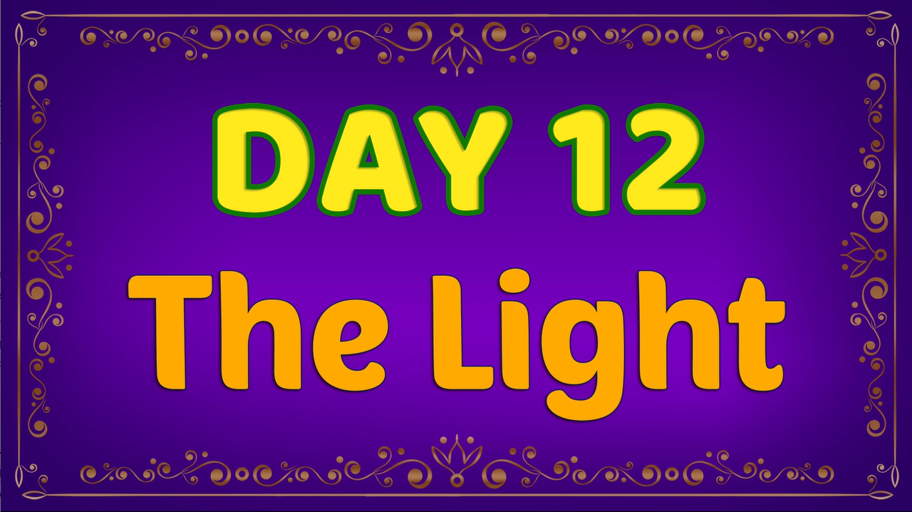 Brother Francis - Advent Day 12 - The Light