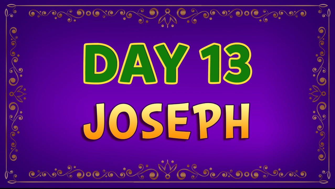 Brother Francis - Advent Day 13 - Joseph