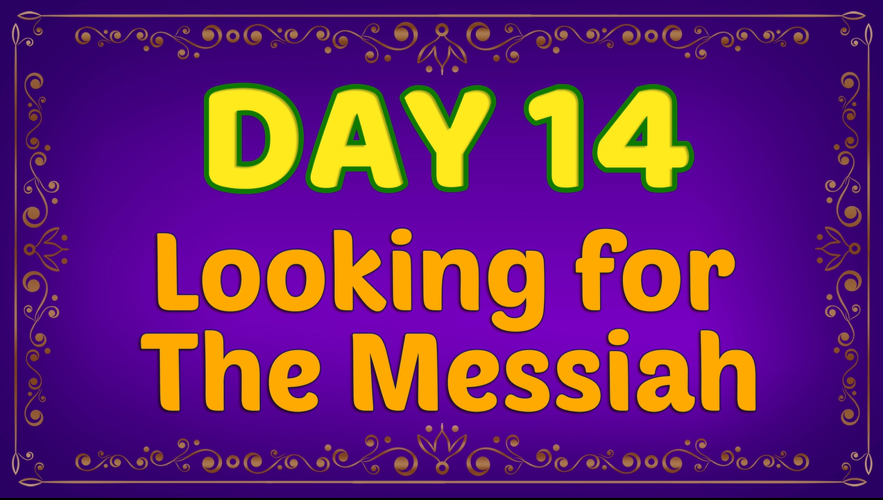 Brother Francis: Advent Day 14 - Looking for the Messiah